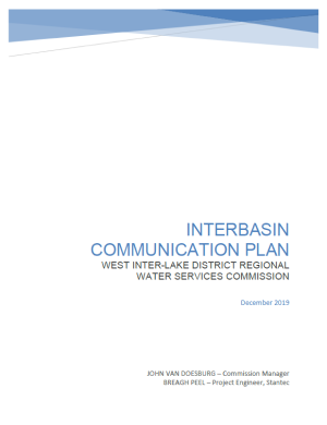 Interbasin Report